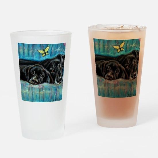 paintingdeniserevised Drinking Glass