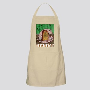 2-HAM RADIO greeting card Apron