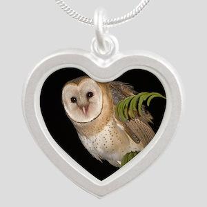 4D5Q9006 Oh Hi Silver Heart Necklace