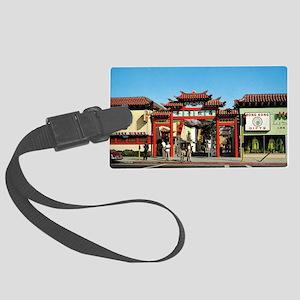 chinatownla Large Luggage Tag