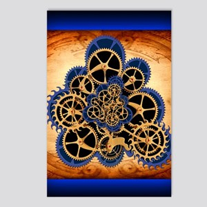 Dreamspell Steampunk gree Postcards (Package of 8)
