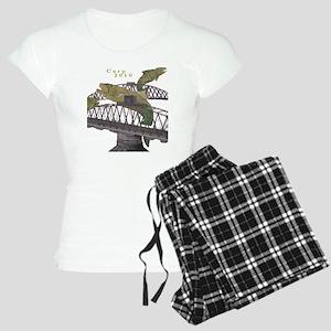 carp4_biggerwText Women's Light Pajamas
