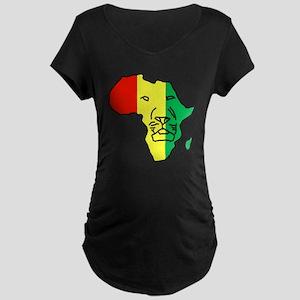 South Africa Maternity Dark T-Shirt