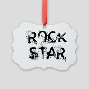 rockstar Picture Ornament