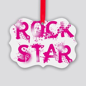 rockstar2 Picture Ornament