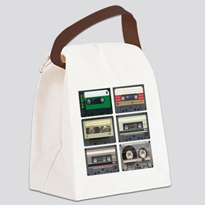 Cassette Tapes Canvas Lunch Bag