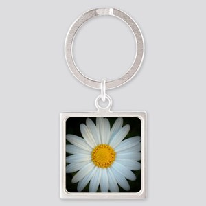 Standout Daisy  Square Keychain