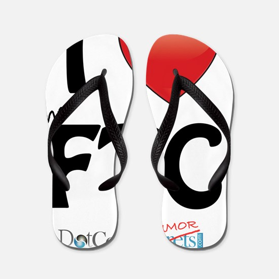 i-heart-the-ftc-02 Flip Flops