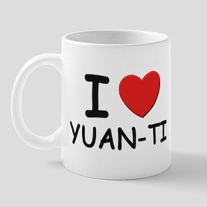 I love yuan-ti Mug