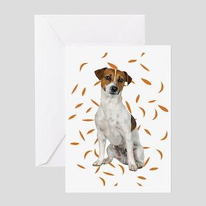FIN-jrt-autumn-no-frame Greeting Card