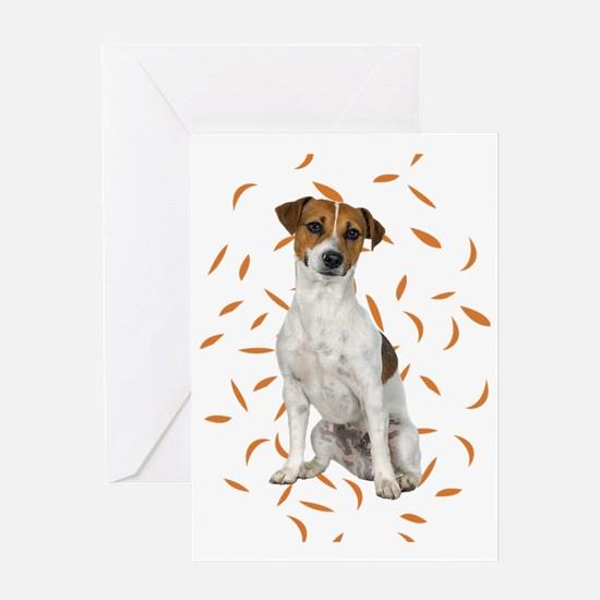 FIN-jrt-autumn-no-frame Greeting Card