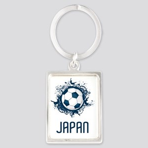 Japan Football3 Portrait Keychain