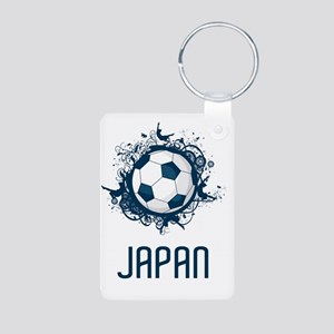 Japan Football3 Aluminum Photo Keychain