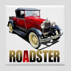 RedAroadster-10 Tile Coaster