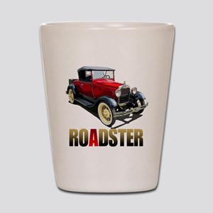 RedAroadster-10 Shot Glass