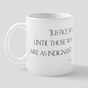 JusticeWillNotCome_Light Mug