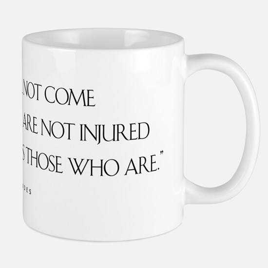 JusticeWillNotCome_Light Mug