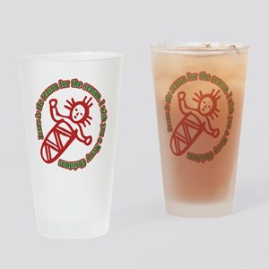 JesusIsTheReason_Dark Drinking Glass