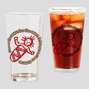 JesusIsTheReason_Light Drinking Glass
