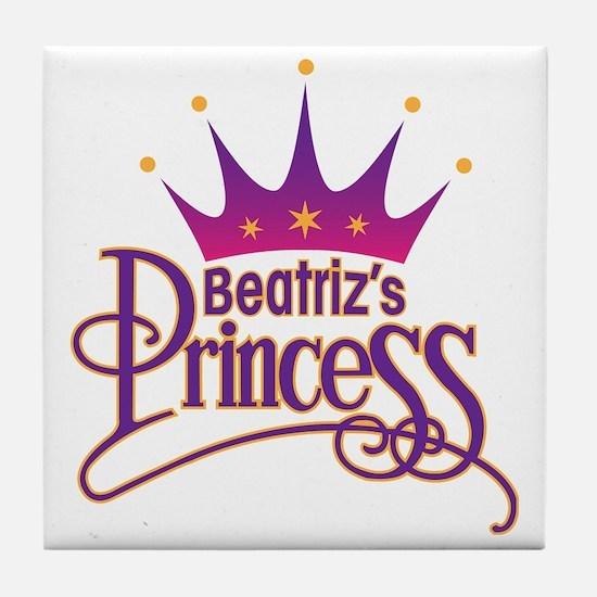BeatrizPrincessArt Tile Coaster