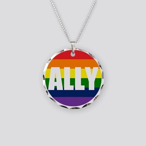 ALLYIKMP Necklace Circle Charm