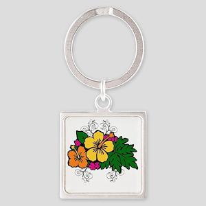 2-Image1-eoeoe Square Keychain