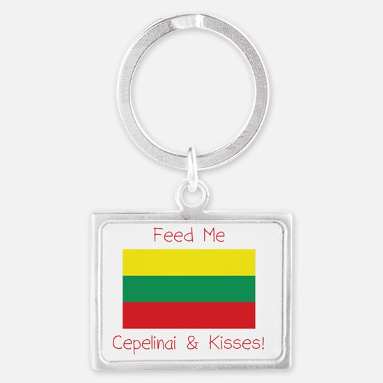 cplithuania Landscape Keychain