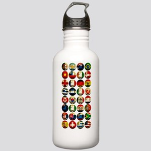 WorldCup2Bk Stainless Water Bottle 1.0L