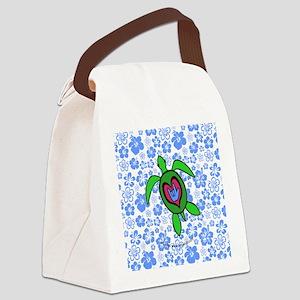 ILYhawaiiTurtleBbt Canvas Lunch Bag