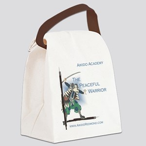 The Peaceful Warrior Canvas Lunch Bag