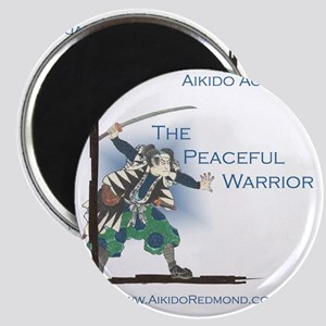 The Peaceful Warrior Magnet
