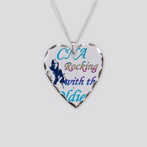 cna rocking copy Necklace Heart Charm