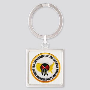 indianhighway Square Keychain
