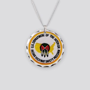 indianhighway Necklace Circle Charm