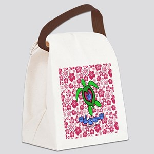 ILYAlohahawaiiTurtleBbt Canvas Lunch Bag