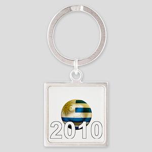 Uruguay World Cup3Bk Square Keychain