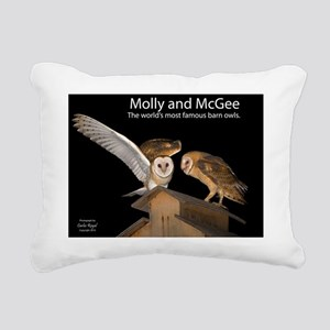 4D5Q9096 Molly and McGee Rectangular Canvas Pillow