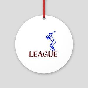 League Round Ornament