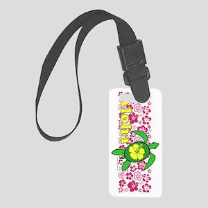 AlohahawaiiTurtleVert Small Luggage Tag