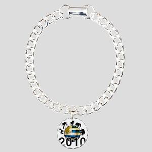 Uruguay World Cup3 Charm Bracelet, One Charm