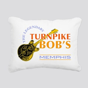 bobsbluesbar Rectangular Canvas Pillow