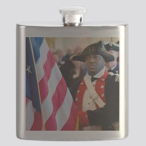 National Freedom Flag Print Flask