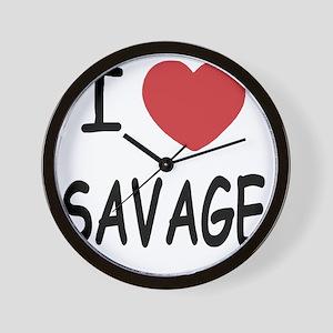 SAVAGE01 Wall Clock
