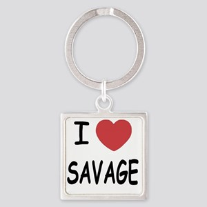 SAVAGE01 Square Keychain