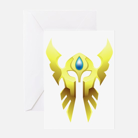 Shattered Sun Offensive WoW Tabard T Greeting Card