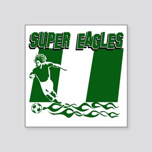 "Super Eagles Square Sticker 3"" x 3"""
