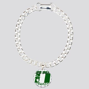 Super Eagles Charm Bracelet, One Charm