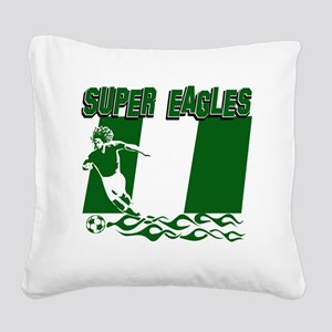 Super Eagles Square Canvas Pillow