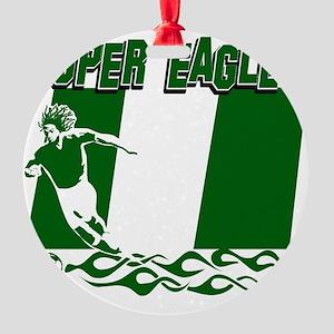 Super Eagles Round Ornament