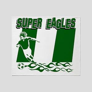 Super Eagles Throw Blanket